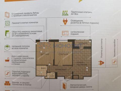 1-komnatnaya-v-granicah-ulic-imeni-marshala-rokossovskogo-generala-ivlieva-kazanskoe-shosse-dom-n25 фото