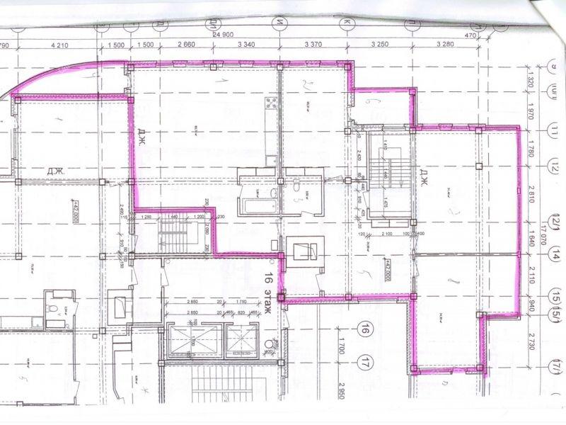 четырёхкомнатная квартира на улице Родионова дом 197 к5
