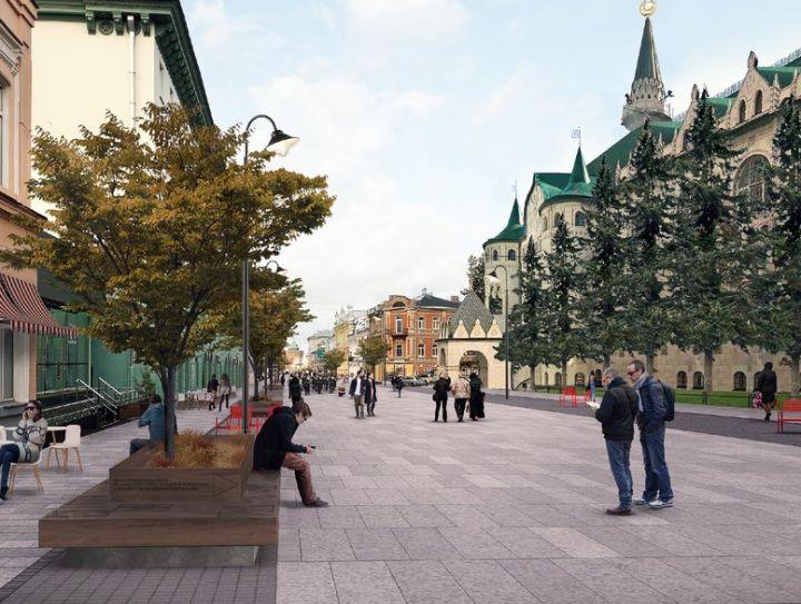Новая Большая Покровская: амфитеатр, молодежный парк и зелень в кадках