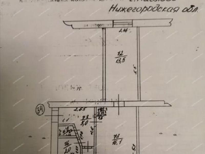 двухкомнатная квартира на улице Чапаева дом 70 город Павлово