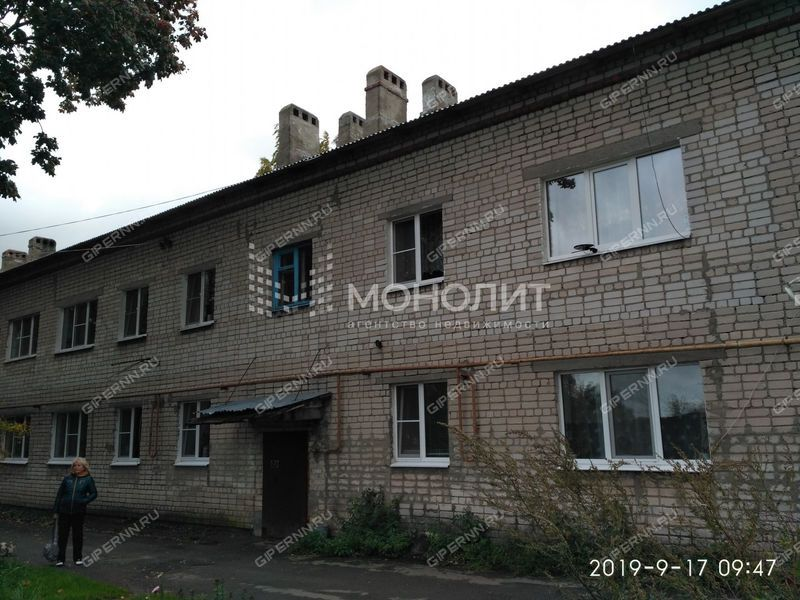 двухкомнатная квартира на улице Магистральная дом 17 село Доскино