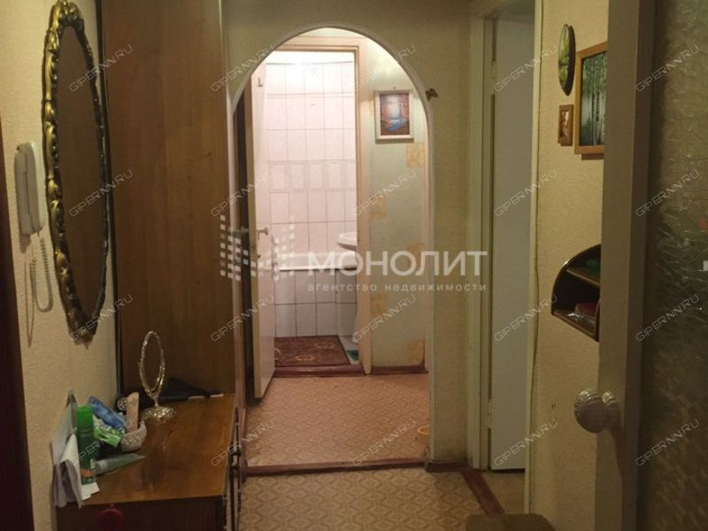 двухкомнатная квартира на улице Гордеевская дом 44