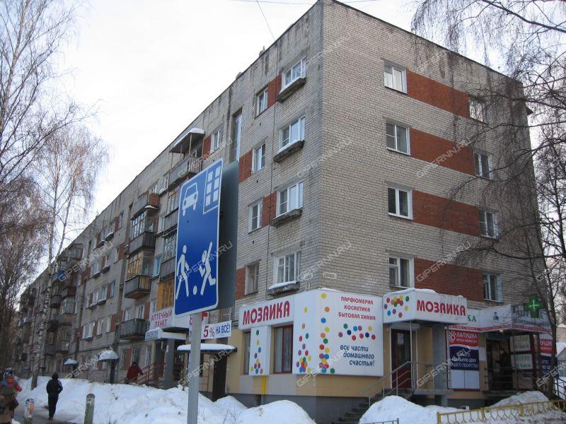 двухкомнатная квартира на улице Богородского дом 3 к1