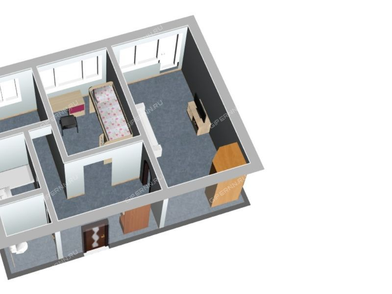 двухкомнатная квартира на улице Мира город Арзамас